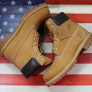 Timberland 6 Premium Wheat Leather Classic Men 8.5